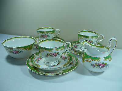 Tuscan Tea Set For 3 Naples