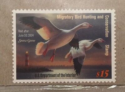 RW70 2003 Duck Stamp Mint Never Hinged VF