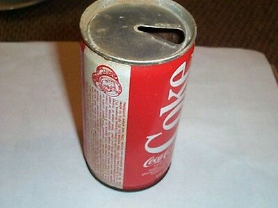 VINTAGE 12OZ COCA COLA COKE SODA CAN Coca-Cola Great Olympic Moments 1972 Medals