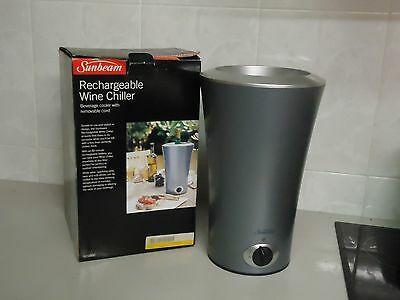 Rechargeable wine chiller