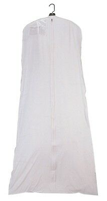 """Wedding  Prom  Gown Breathable 72""""  Garment Bag  10 """" Gusset  72""""  FREE SHIPPING"""