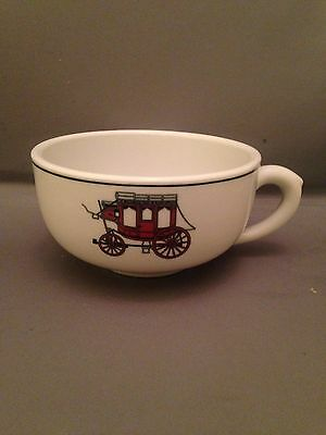 Shenango Nassau Inn Coach Room Handled Soup Bowl/Cup