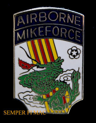 Airborne Mike Force Lapel Hat Pin Up Us Army Arvn Special Forces Veteran Gift