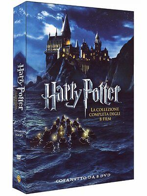 Harry Potter -Collezione completa (8 DVD) - ITALIANO ORIGINALE SIGILLATO -