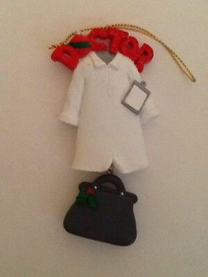 Doctor Christmas Ornament FREE SHIPPING!!!