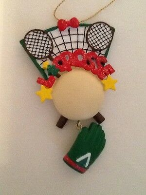 Lacrosse Christmas Ornament FREE SHIPPING!!!