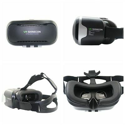Shinecon VR Box 2.0 Virtual Reality Headset Real 3D Movies Games Video Glasses
