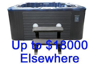 129 Jets Large Hydro Outdoor Spa Indoor Portable Hot Tub Spa Bath