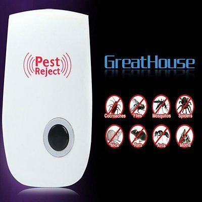 Ultrasonic Repellent Pest Control Anti Mosquito Rat Mice Pest Electronic Plug