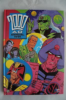 2000 AD Annual 1991- UK Annual - Judge Dredd - 25 Years Old