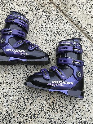 ROSSIGNOL Energy Woman's SIZE 24.5 SKI BOOTS