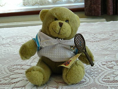 Tim the Tennis Player from the Teddy Bear Collection