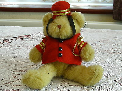 Barney the Bellboy from the Teddy Bear Collection
