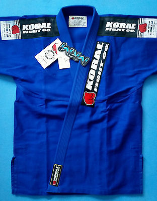 Koral MKM Competition BJJ Gi A3 Blue EXCLUSIVE GUARANTEE!!!