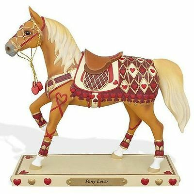 New Enesco Enesco Trail of the Painted Ponies Pony Lover Figurine