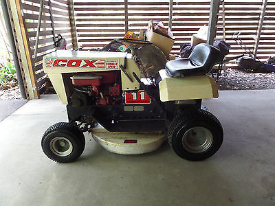 cox 11 hp ride on mower great reliable mower