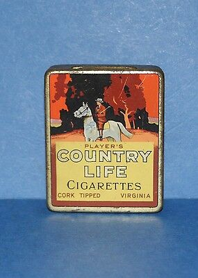 Vintage Players 'Country Life' cigarette tin