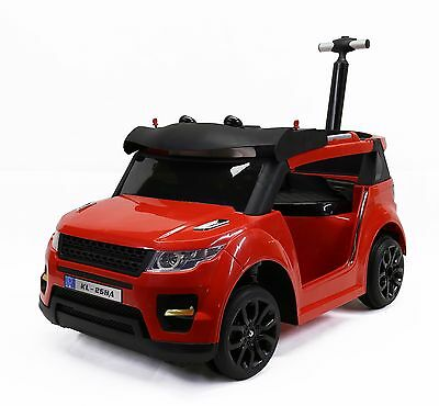 Roll over image to zoom in Power Wheels for Kids with a Push Hand, Red
