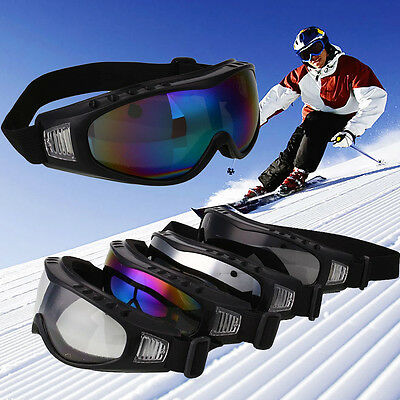 Anti-fog Dual Snow Lens Winter Outdoor Snowboard Ski Goggle Colourful Glasses