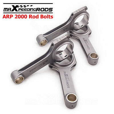 H beam rods Para Audi A4 A6 S3 TT VW Golf 1.8T 2.0T Bielas Connecting ARP sale