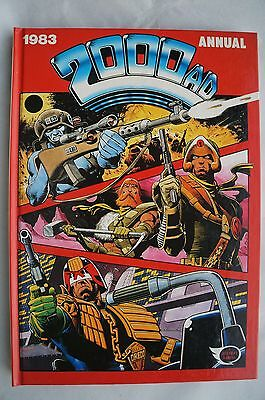 2000 AD Annual 1983 - UK Annual - Judge Dredd - 33 Years Old