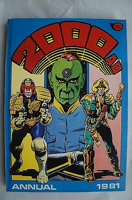2000 AD Annual 1981 - UK Annual - Judge Dredd - 35 Years Old