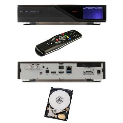 Dreambox DM 900 UHD 4K E2 Linux Sat Receiver Twin Tuner DVB-S2 + 1 TB Festplatte