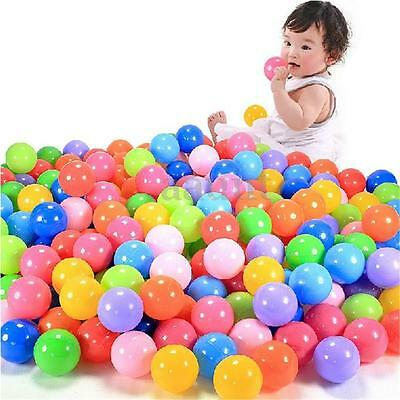 4cm 400Pcs Colorful Ball Soft Plastic Ocean Ball Baby Kid Swim Pool Pit Toy New