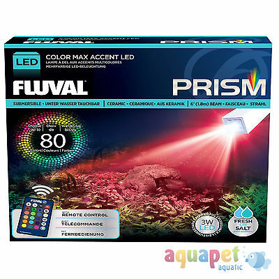Fluval Prism Underwater LED Spotlight with Remote Control for Aquariums