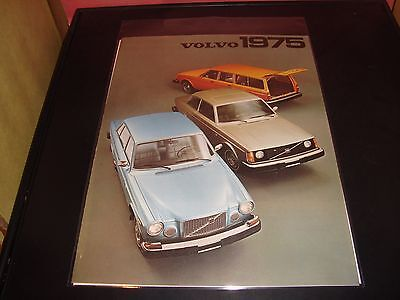 1975 Volvo VF Condition Brochure 160/240 Series Vehicle Sell Sheet