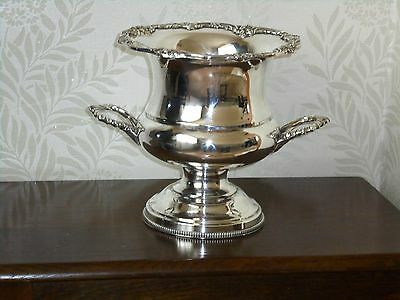 Beautiful Vintage Silver Plated Wine Cooler