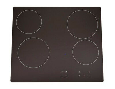 NEW Euro 4 Burner 60cm Electric Cooktop with Touch Controls