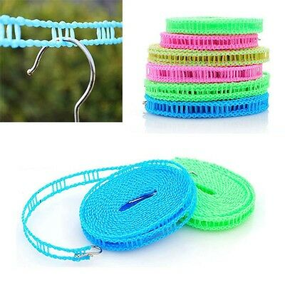 3M Portable Windproof Clotheslines Clothes Rope Line for Outdoor Indoor Home Tra