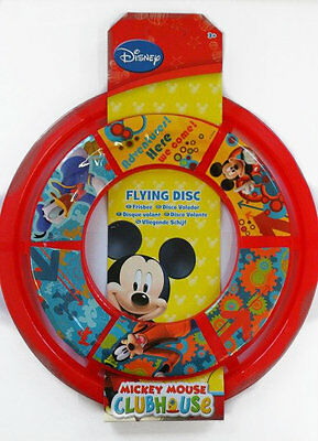 Disney Mickey Mouse Clubhouse Flying Disc Frisbee Games Fun Birthday Gift