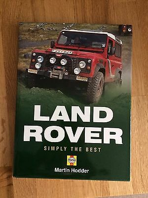 Land Rover Simply The Best Book Haynes Publishing © Martin Hodder 1998