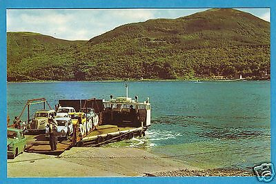 Strome Ferry, Wester Ross - Minis Aboard - Ross & Cromarty PC 1960s (P291)
