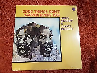 Jimmy McGriff and Junior Parker Good things dont happen every day vinyl LP NEU