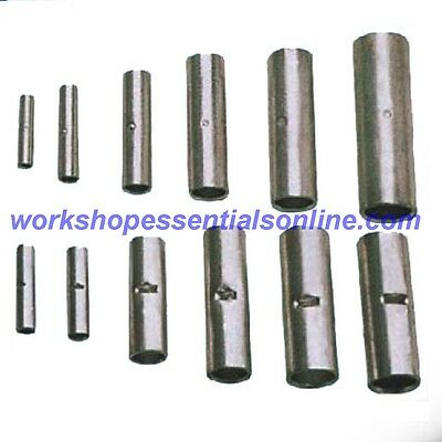 Copper Tube Butt Connectors Terminals Straight Joiner Crimp/Solder 1.5mm²-150mm²
