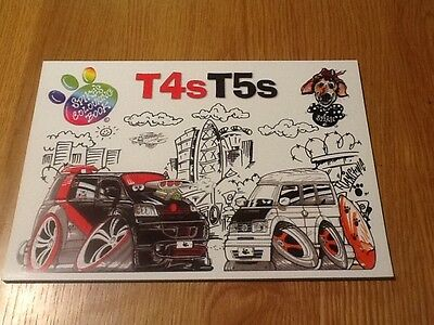 Campervans - T4sT5s Spike's Colouring Book