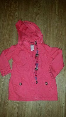 girls pink coat size 4-5 years