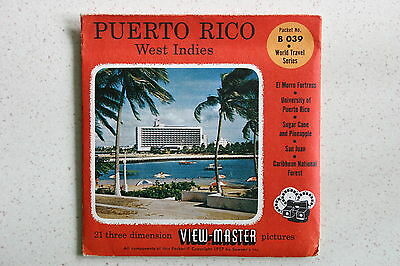 Viewmaster Reel B039 Puerto Rico West Indies (Unopened)