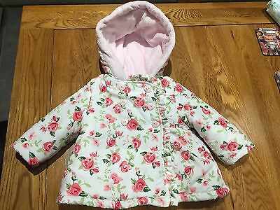 Beautiful girls coat jacket 3-6 months