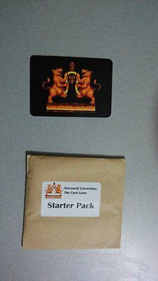 Discworld Convention 2014 Card Game Starter Pack empty Little Brown Envelope LBE