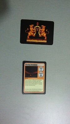 Discworld Convention 2014 Card Game Closing Ceremony Event Ribbon Curtain