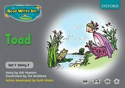 Read Write Inc. Phonics: Grey Set 7 Storybooks: Toad, Gill Munton, New Book