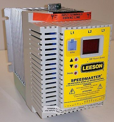 7.5 HP 575V 3PH INPUT 575V 3PH OUTPUT Leeson Variable Frequency Drive 174031.00