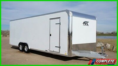 Model Year Clearance! ATC Raven 8.5x24 Aluminum Enclosed Car Hauler