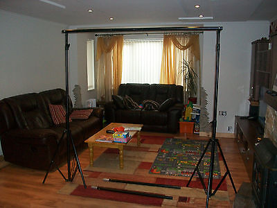 3 x 3.5m Heavy Duty Backdrop Support Stand - Background Photo Studio