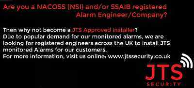 NACOSS/SSAIB registered alarm engineers - join the JTS Approved Installer scheme