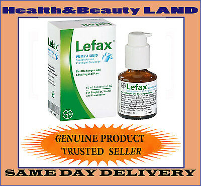 Bayer LEFAX PUMP LIQUID 50 ml Baby Colic Bloating